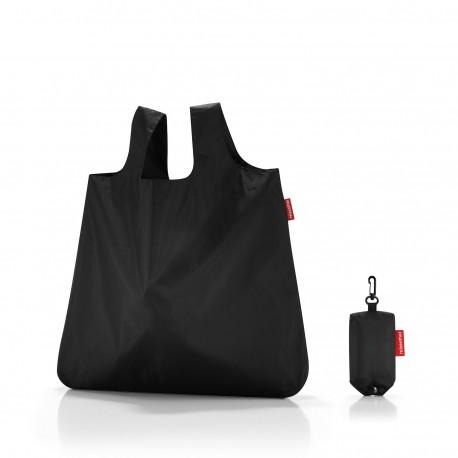 Reisenthel mini maxi shopper pocket in schwarz