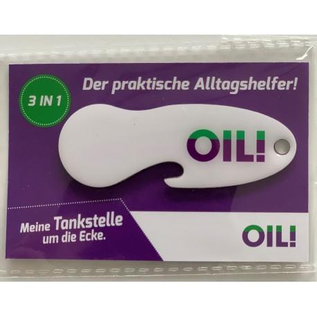 OIL! Einkaufswagenlöser-Schlüsselanhänger