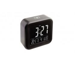 Alarmuhr mit Thermometer